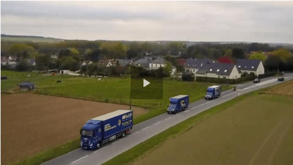 Amiens Services Déménagements en vidéo